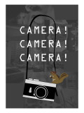 Camera Gray Giclee Print by Ikuko Kowada