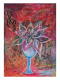 It Is Only One Mysterious Flower in the World. Giclee Print by Mariko Miyake