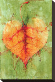 Leaf I Stretched Canvas Print by Monica Wang