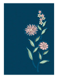 Cosmos Blue Giclee Print by Ikuko Kowada