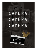 Camera Brown Giclee Print by Ikuko Kowada