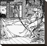 The Merry Adventures of Robin Hood Stretched Canvas Print by Howard Pyle