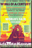 World's Fair, Chicago, Wings of a Century, c.1934 Stretched Canvas Print