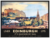 Edinburgh Tin Sign