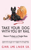Take your dog Cartel de chapa