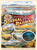 Donegal Railway Tin Sign