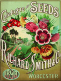 Richard Smith Catalogue Cartel de chapa