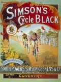 Simpsons Cycle Tin Sign