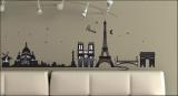 Parigi, Francia (sticker murale) Decalcomania da muro