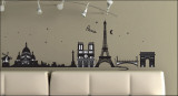 Paris, France Wall Decal