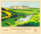Gleneagles Tin Sign