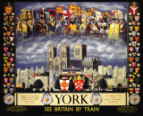 York Kings Cartel de chapa