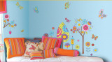 Fantasy Garden Wall Decal