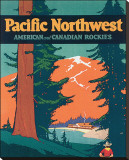 Pacific Northwest Reproduction transf&#233;r&#233;e sur toile