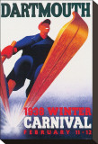 Dartmouthm, Winter Carnival, c.1938 Stretched Canvas Print
