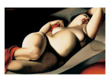 La Belle Rafaela Premium Giclee Print by Tamara de Lempicka