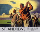 St. Andrews Plaque en métal