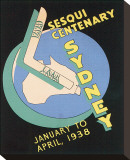 Sesqui Centenary, Sydney Stretched Canvas Print