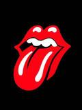 Stones Tongue Plaque en métal