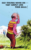 Old golfers Cartel de chapa por Bamforth & Co