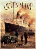 Queen Mary Blikkskilt av Kevin Walsh