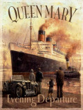 Queen Mary Cartel de chapa por Kevin Walsh