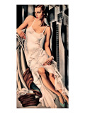 Portrait de Madame Allan Bott Premium Giclee Print by Tamara de Lempicka