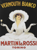 Martini Vermouth Bianco Tin Sign