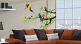Perroquets Autocollant mural