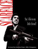Scarface, 1983 Plaque en métal