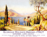 Glorious Holidays Abroad - Italy Plaque en m&#233;tal
