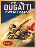 Bugatti Plaque en métal