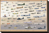 American Aviation: Early Years, 1903-1945 Stretched Canvas Print