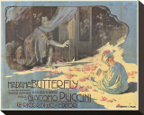 Madama Butterfly Stretched Canvas Print by Adolfo Hohenstein