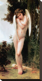 Cupidon Stretched Canvas Print by William Adolphe Bouguereau