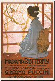 Puccini, Madama Butterfly Stretched Canvas Print