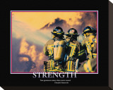 Strength Stretched Canvas Print