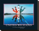 United We Stand Stretched Canvas Print