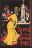 Caffe Espresso Stretched Canvas Print by  Ceccanti