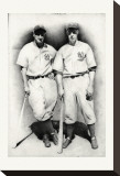 Dimaggio and Gehrig Reproduction sur toile tendue par Allen Friedlander