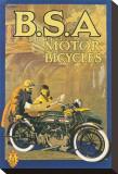 BSA-Motorräder Leinwand