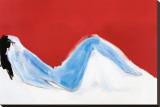 Nu rouge Reproduction sur toile tendue par Nicolas De Staël