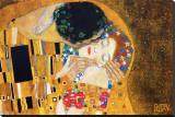 El beso, ca.1907 (detalle) Reproducción en lienzo de la lámina por Gustav Klimt