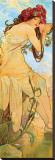 Sommer Leinwand von Alphonse Mucha