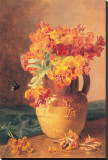Flowers in a Jug Stretched Canvas Print by Eloise Harriet Stannard