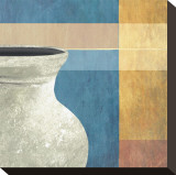 Potter Vase I Stretched Canvas Print by Felix Latsch