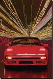 Porsche 911 Slopenose Convertible Stretched Canvas Print