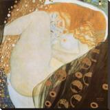 Danae Leinwand von Gustav Klimt