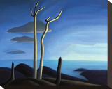 Lake Superior Leinwand von Lawren S. Harris