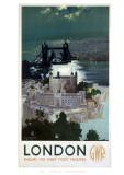 London by GWR Wydruk giclee